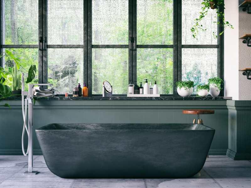 Salle de bain avec fenetre