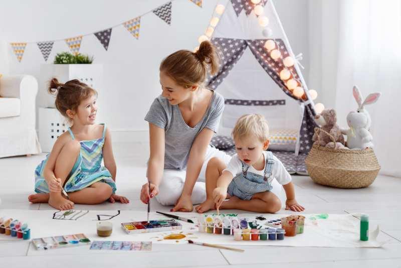 Loisirs créatifs avec les enfants