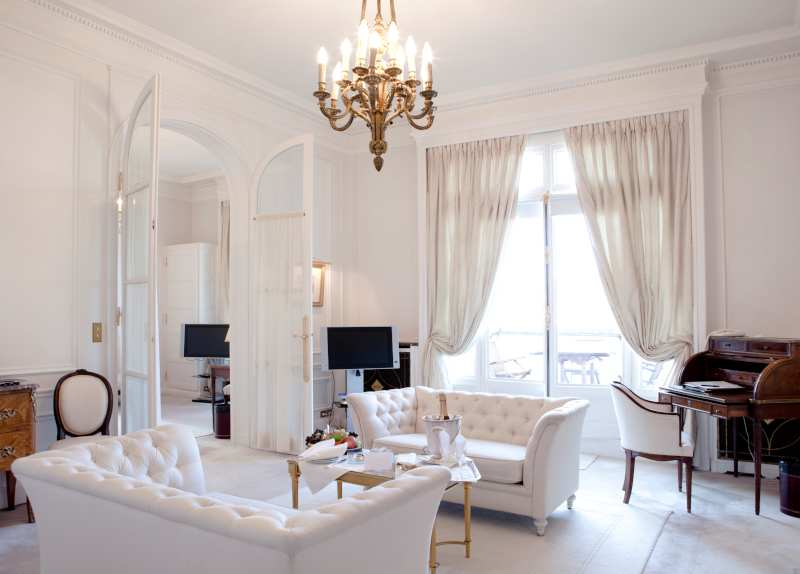 Intérieur luxe glamour