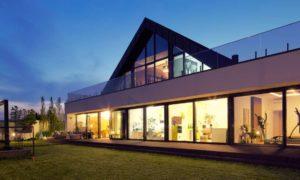 Maison grand vitrage Oknoplast