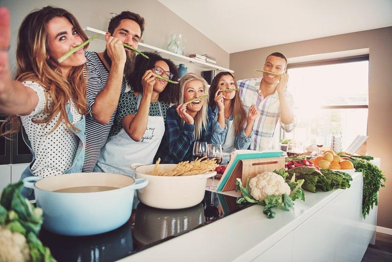 Cuisine fonctionnelle et conviviale
