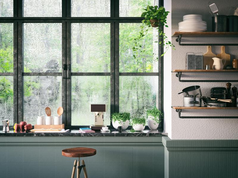 Fenêtre cuisine sur mesure oknoplast