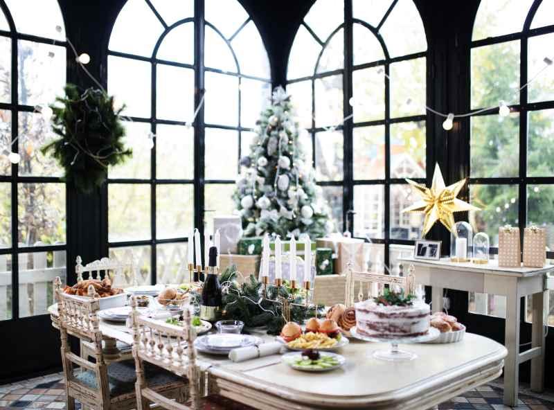 Décoration fenêtre-Noël