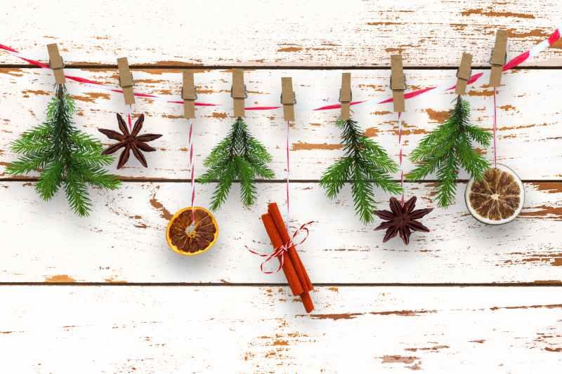 DIY guirlande Noël