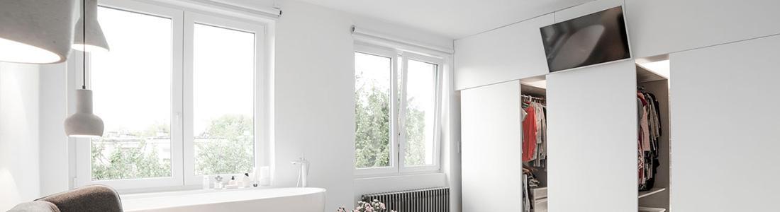 Une fenêtre au design élégant <p>Oknoplast, créateur d'innovation, met un point d'honneur à ce que les fenêtres produites par la marque deviennent des éléments indispensables d'une habitation. Chaque fenêtres PVC…</p>