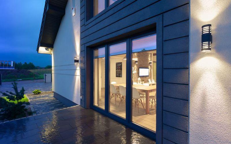 La baie vitree - maison contemporaine