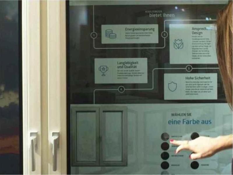Fenêtre SMART WINDOW OKNOPLAST fenêtre tactile