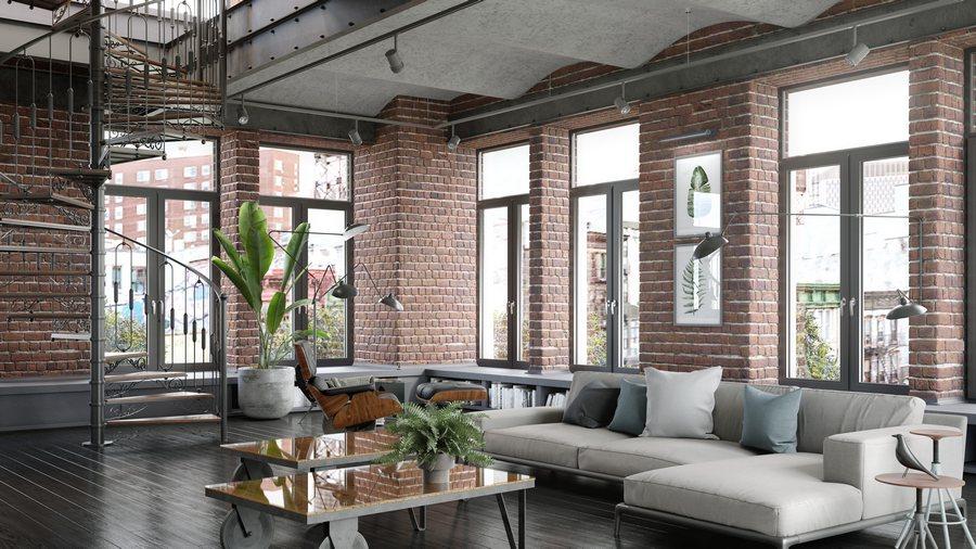 Un intérieur au style industriel