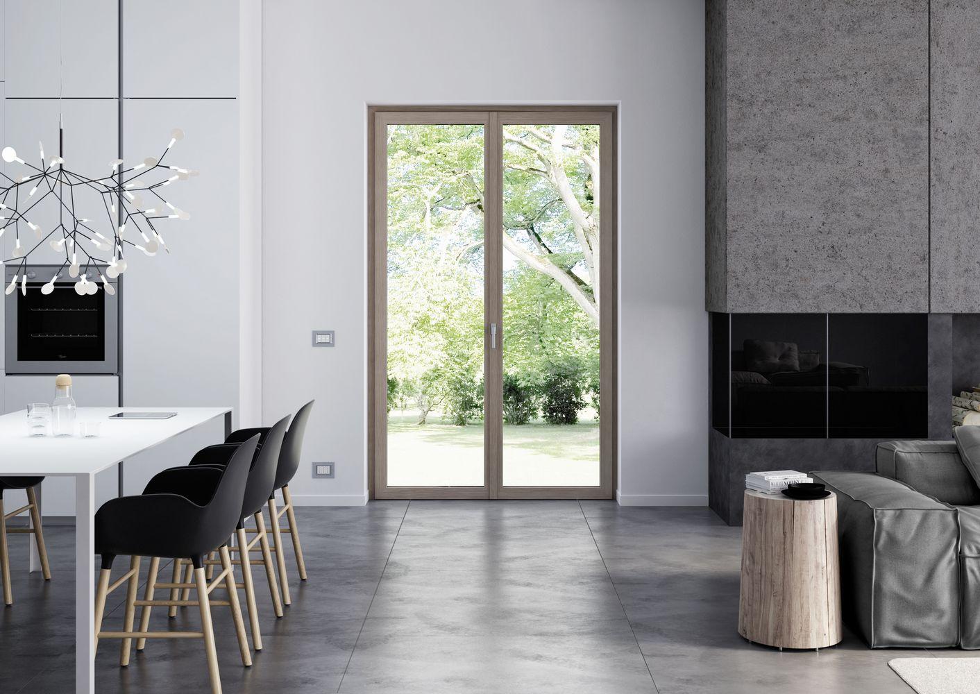 Porte-fenêtre - Pixel - Oknoplast